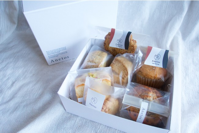 ヴィーガンベイクショップ「Anetos」 焼き菓子のオンライン販売をスタート