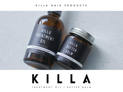 人気サロンがプロデュース!「KILLA PRODUCT」の天然ヘアケア商品新登場