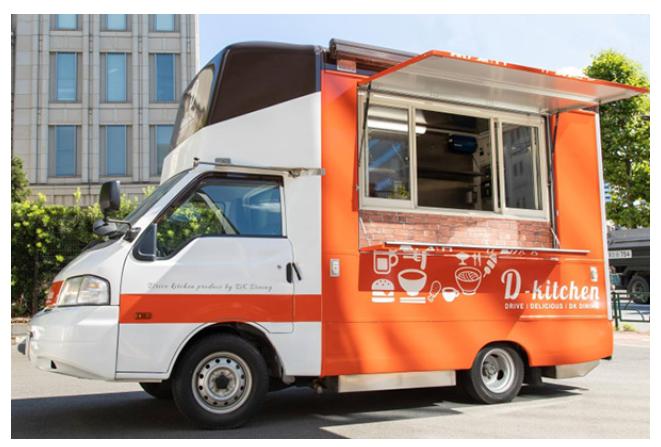 【秋葉原】気軽に立ち寄れるキッチンカー「D-kitchen」がオープン