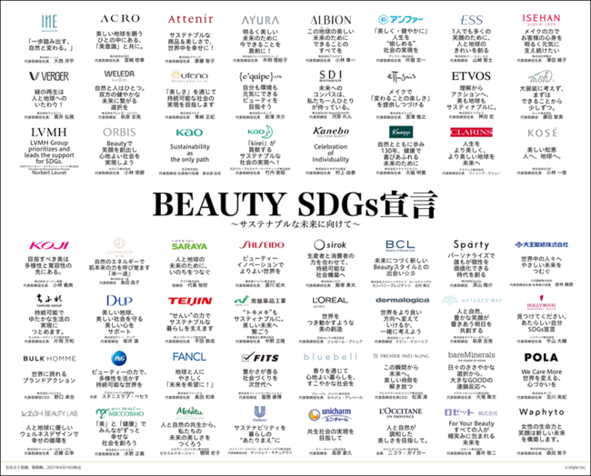 ビューティ業界のトップがイマドキ女子にSDGsなメッセージを発信