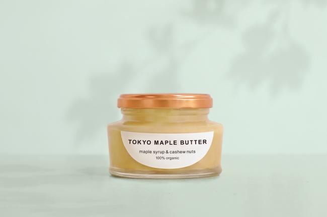 100%オーガニックのスプレッド「TOKYO MAPLE BUTTER」発売