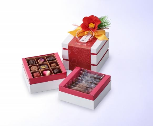 老舗チョコレートブランドが「お正月ギフト」を発売