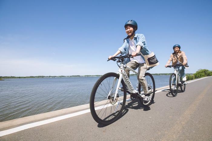 星野リゾートBEB5土浦にレンタル自転車「E-bike」が新登場