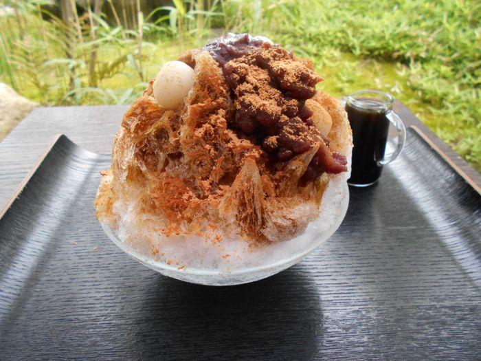 【夏季限定】コレは食べたい!古民家カフェで味わう「丹波天然水かき氷」