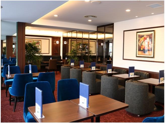 【新橋】「喫茶室ルノアール」が昭和モダンな空間に