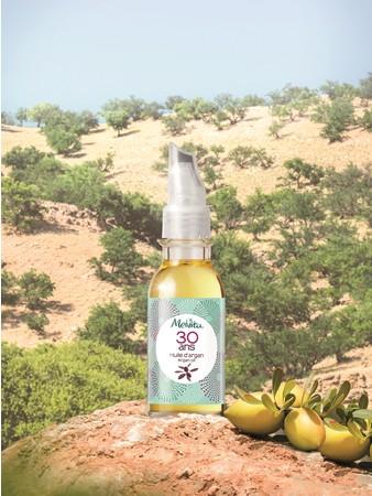 「砂漠に緑を、肌に潤いを」発売30周年のアルガンオイル限定パッケージ登場