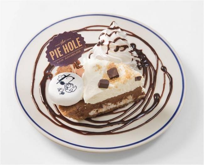 LA発手作りパイの「The Pie Hole Los Angeles」にスヌーピープレート登場