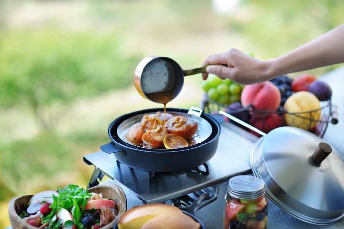 アウトドア体験も楽しめる「薫る果実のグランピング朝食」星のや富士で開催