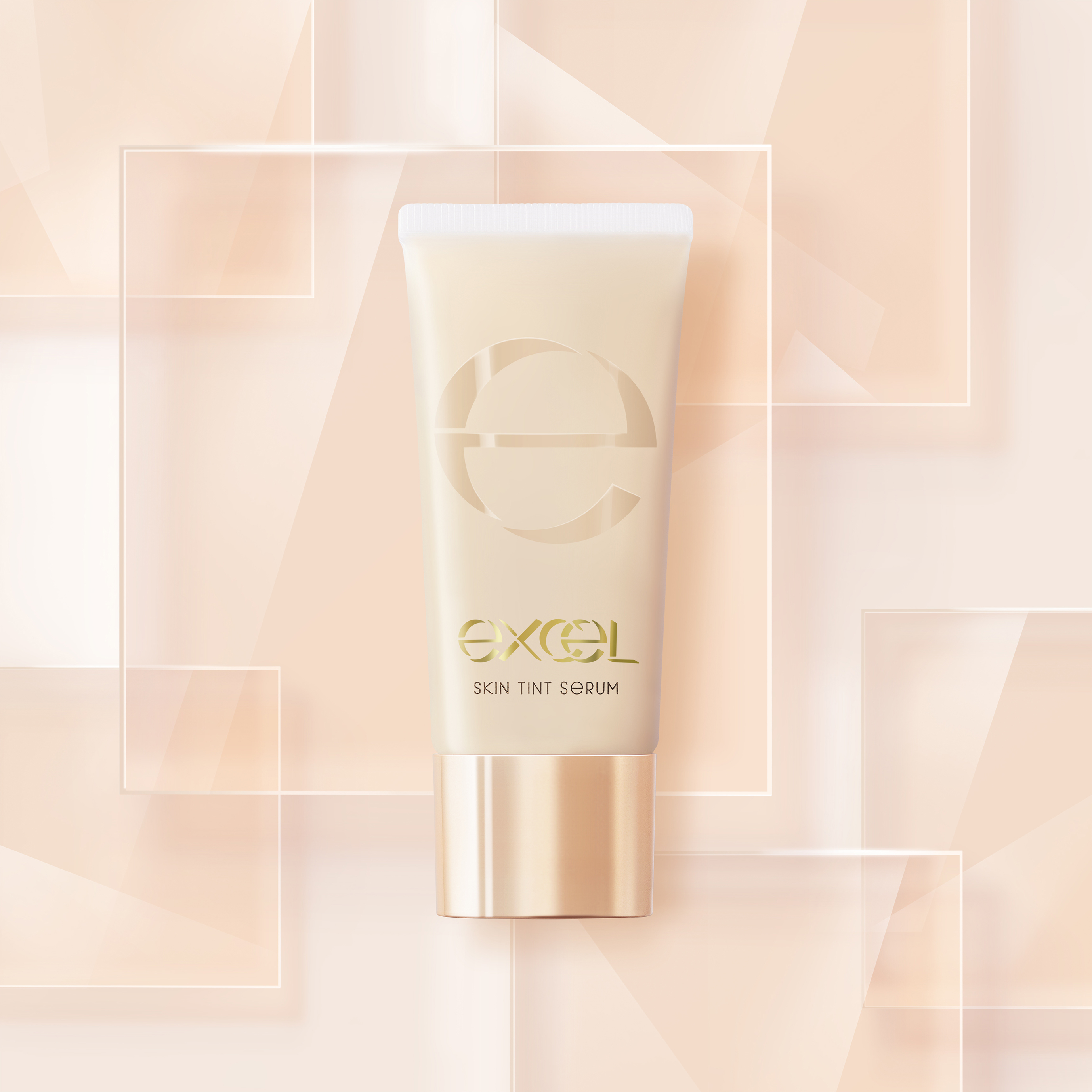 素肌をよりキレイに見せる美容液ファンデ!「エクセル」より新発売